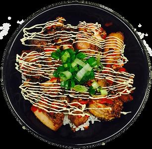 Kara-Age Fried Chicken Bowl