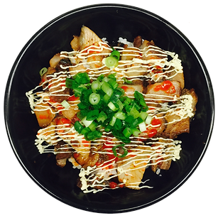 Chashu Pork-Belly Rice Bowl
