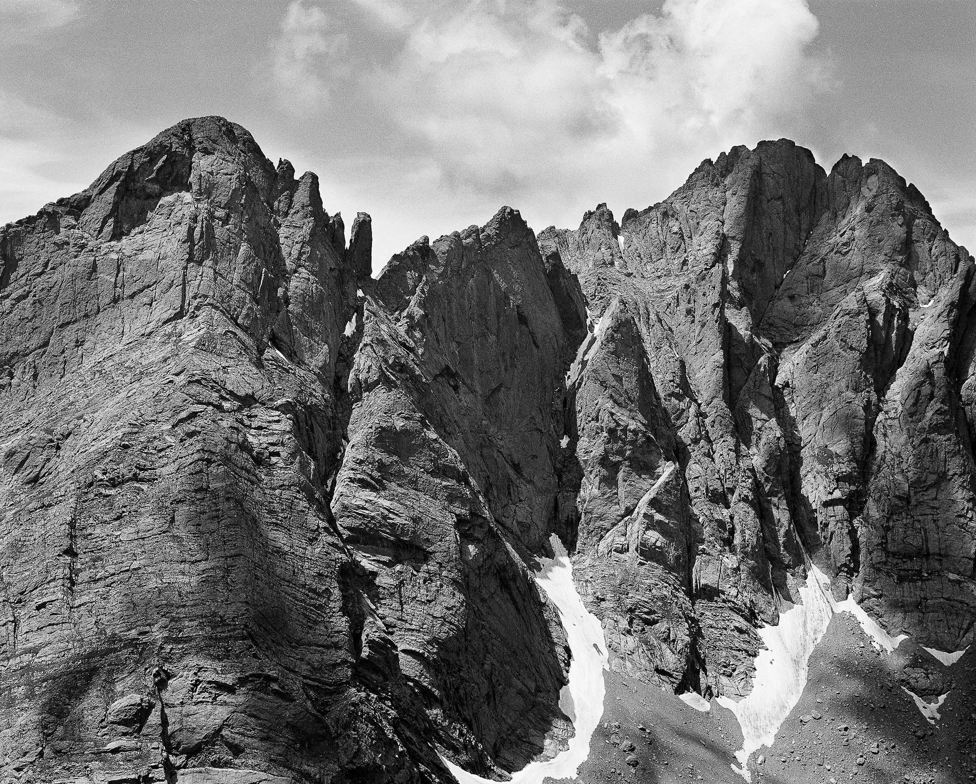 Crestones from Humboldt Peak
