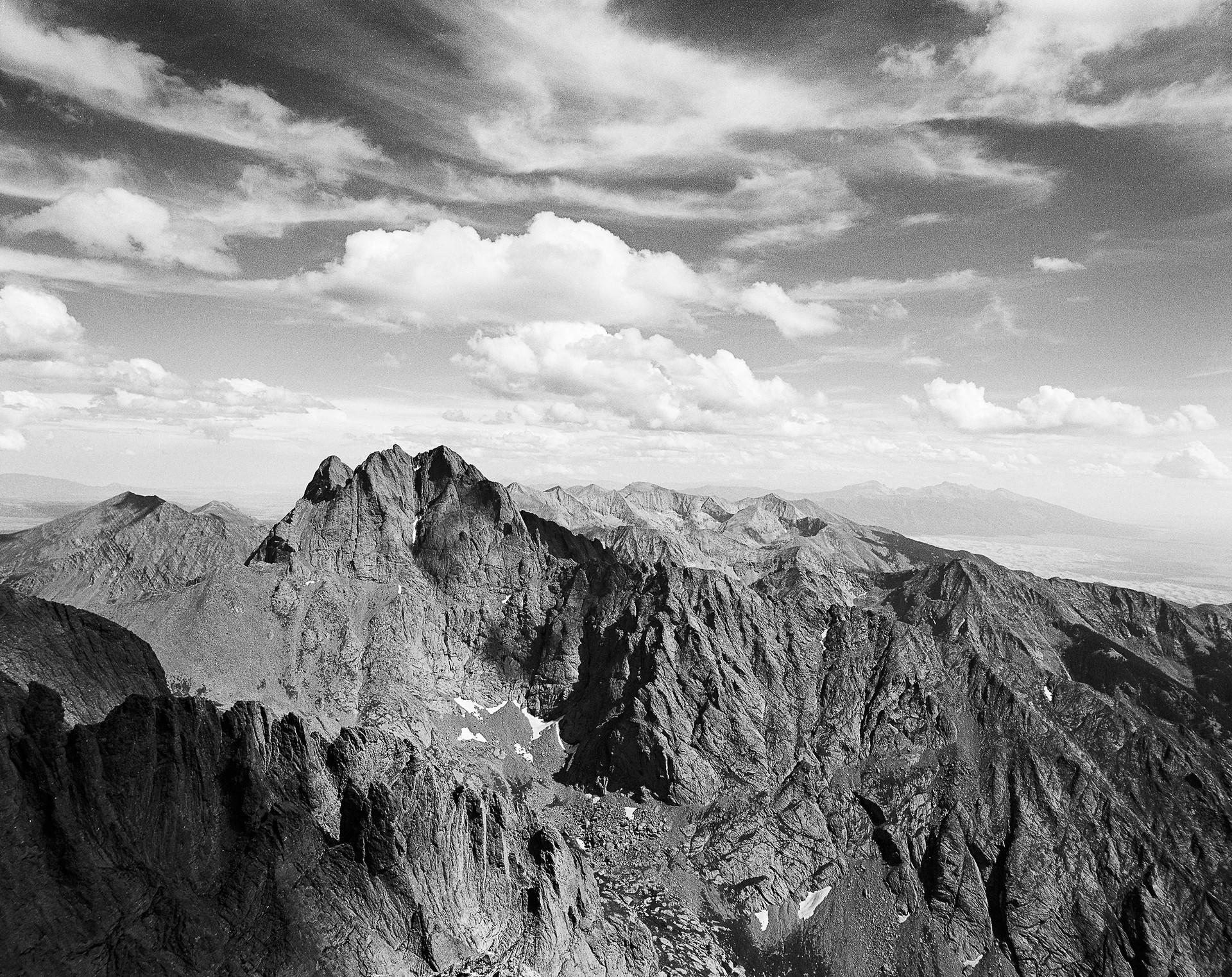 Crestone Peak from Kit Carson