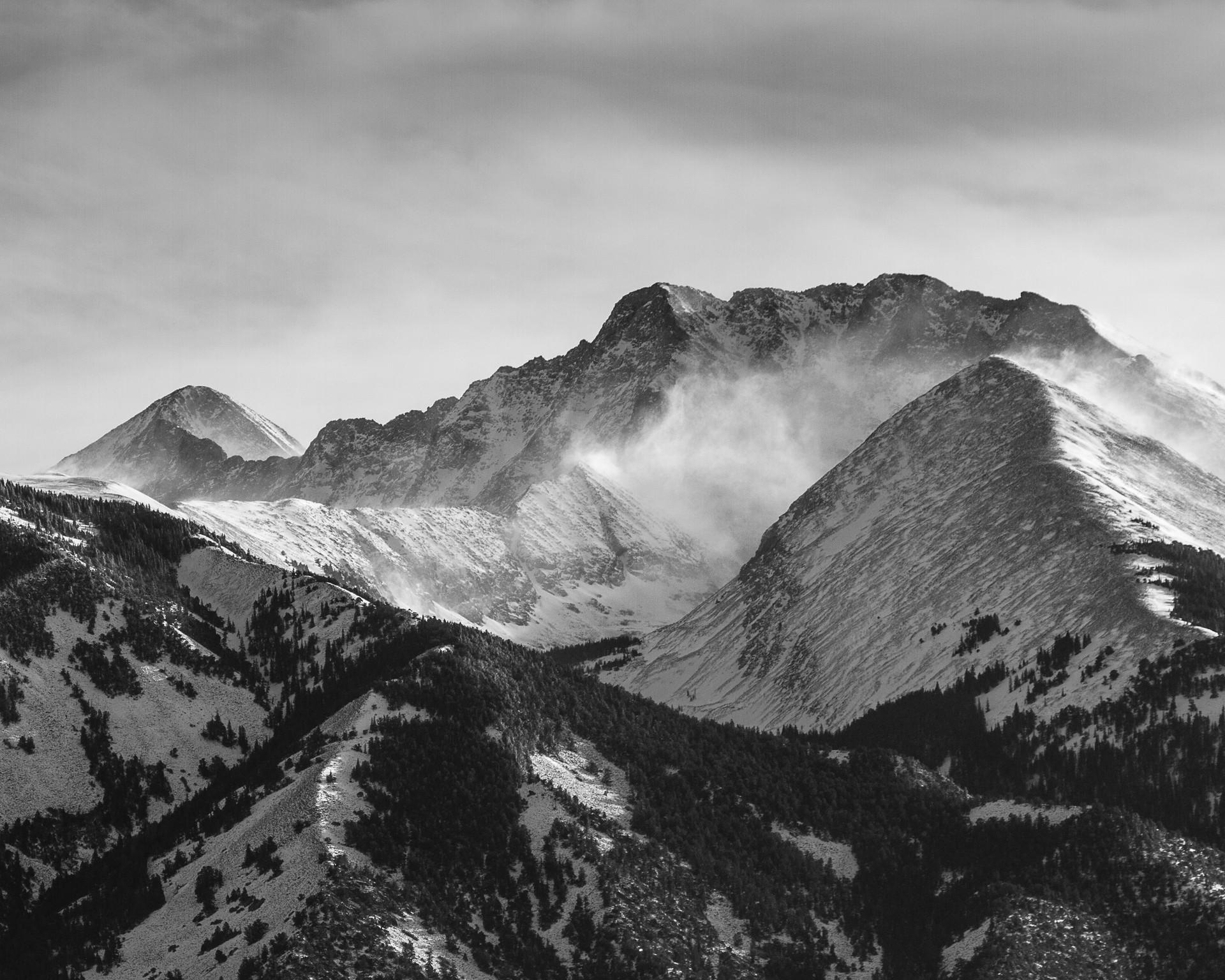 Little Bear Peak and Blanca Peak
