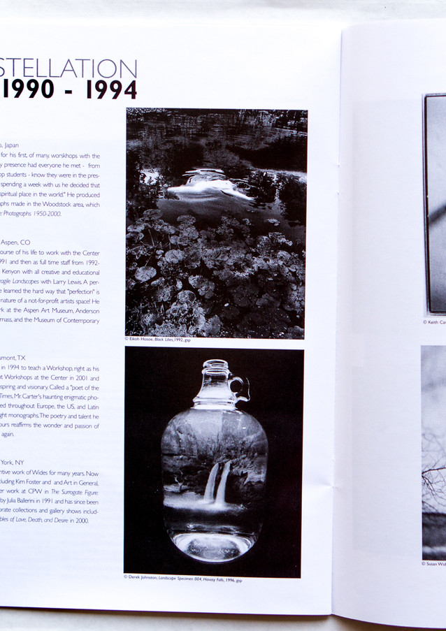 Magazine feature in Center for Photography at Woodstock's Photography Quarterly magazine.