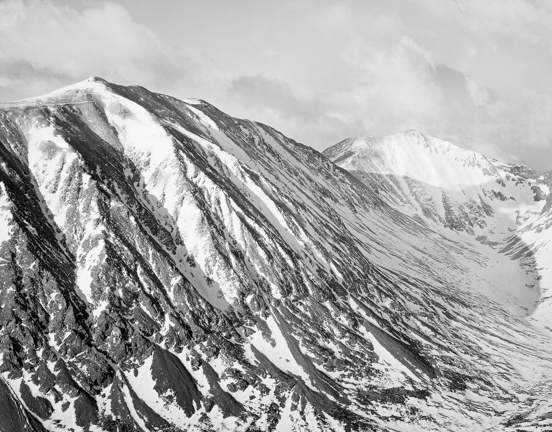 Mount Lincoln and Mount Democrat