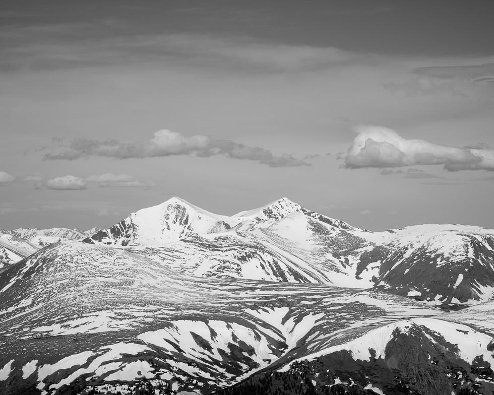 Grays Peak and Torreys Peak