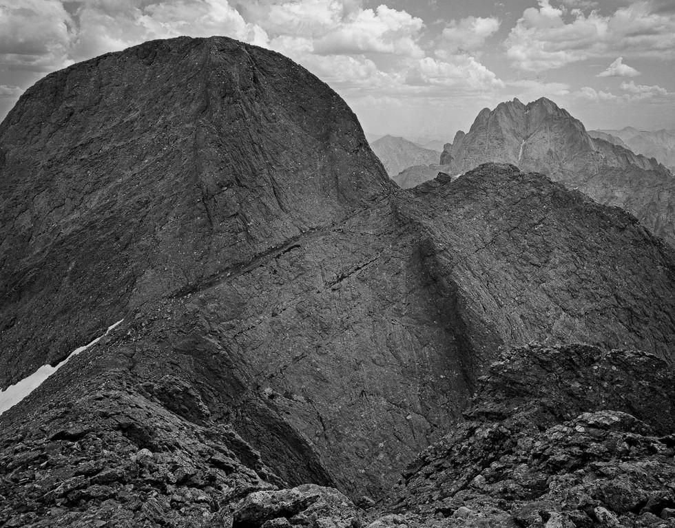 Kit Carson Peak and the Crestones