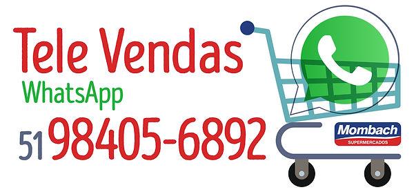 Televendas Whats_Tele vendas horizontal.