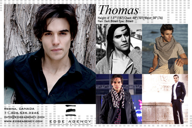 Top EDGE AGENCY International Male Model Lands in Beijing Running