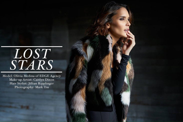 Lost Stars Online Editorial with EDGE AGENCY International Model Olivia