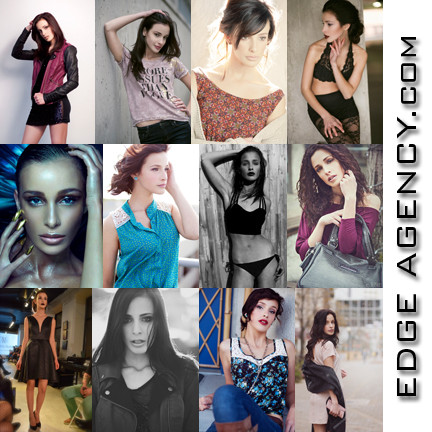EDGE AGENCY Model Jade Signed Her First Ever International Modeling Contract
