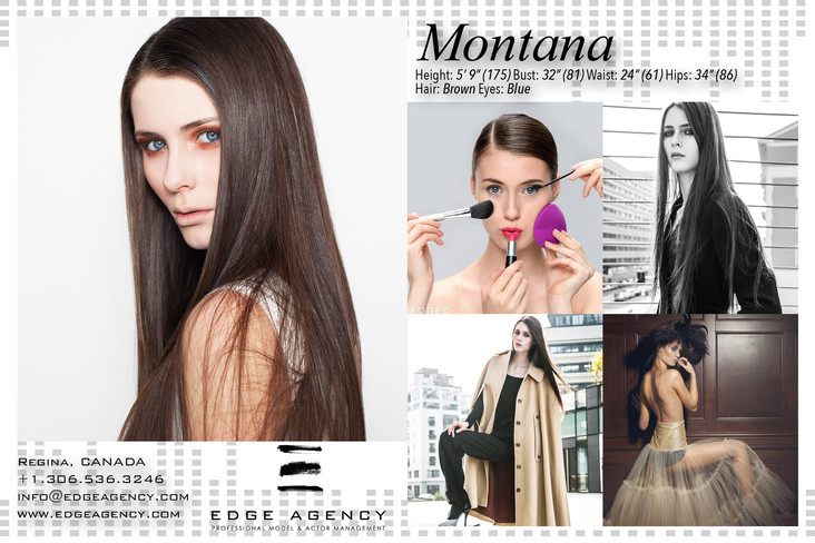 Top EDGE AGENCY International Model Montana off to Shanghai