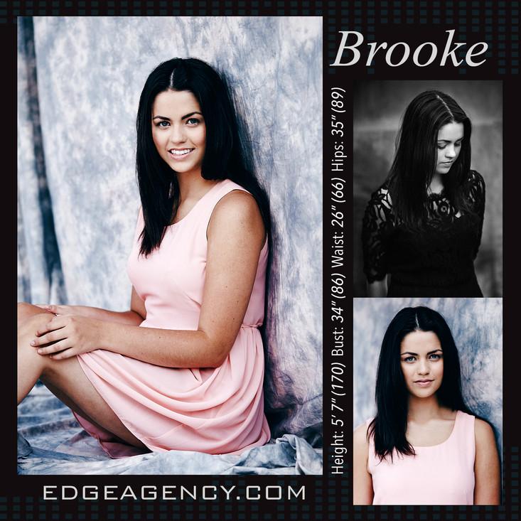 New Face Alert EDGE AGENCY Model Brooke