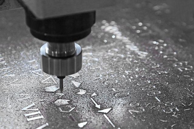 gravure de métal