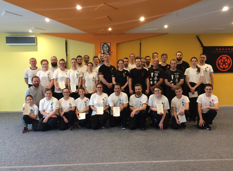 Wing Tsun kungfu szeminárium és vizsga Szegeden