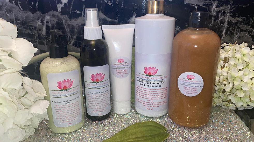 Natural Dermatitis Treatment Set