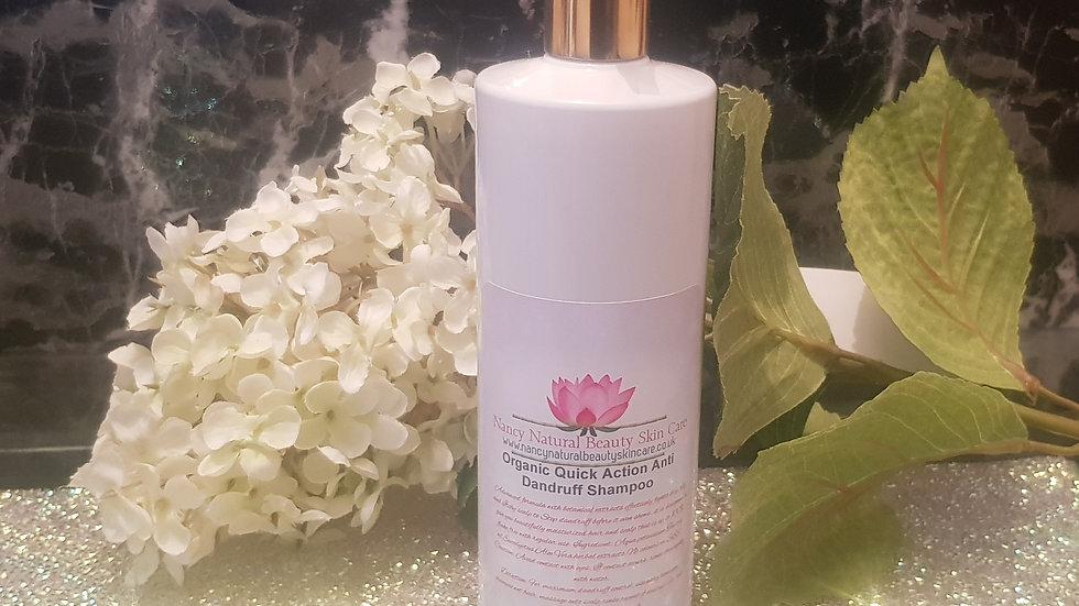 Organic Quick Action Anti Dandruff Shampoo