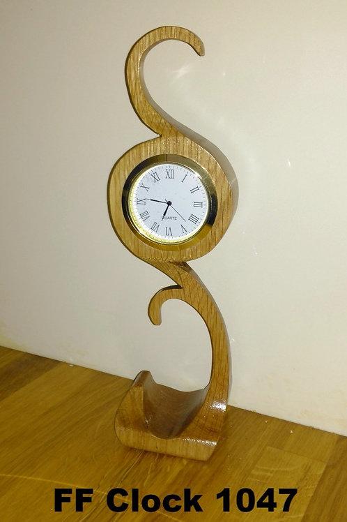 Free hand Clock