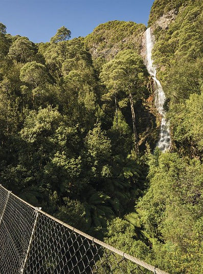 Montezuma Falls, 15 mintues fromTullah Lakeside Lodge on the West Coast of Tasmania