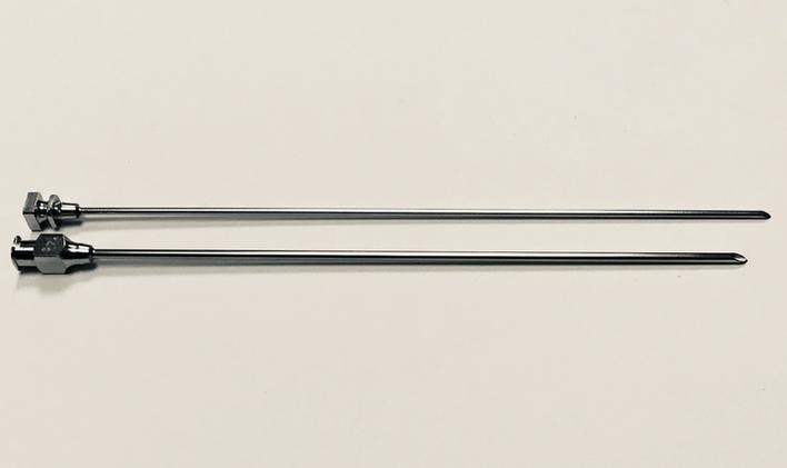 Howard Jones paravertabral needle