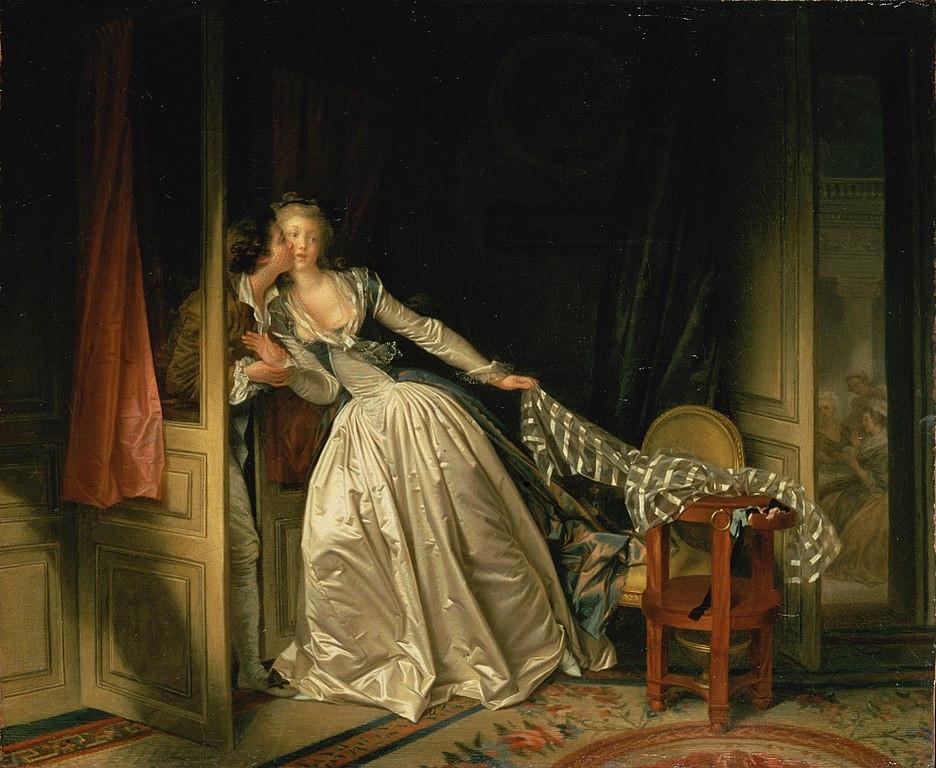 Jean Honore Fragonard, The Stolen Kiss