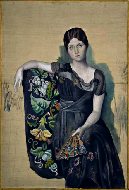 Pablo Picasso, Olga in an Armchair