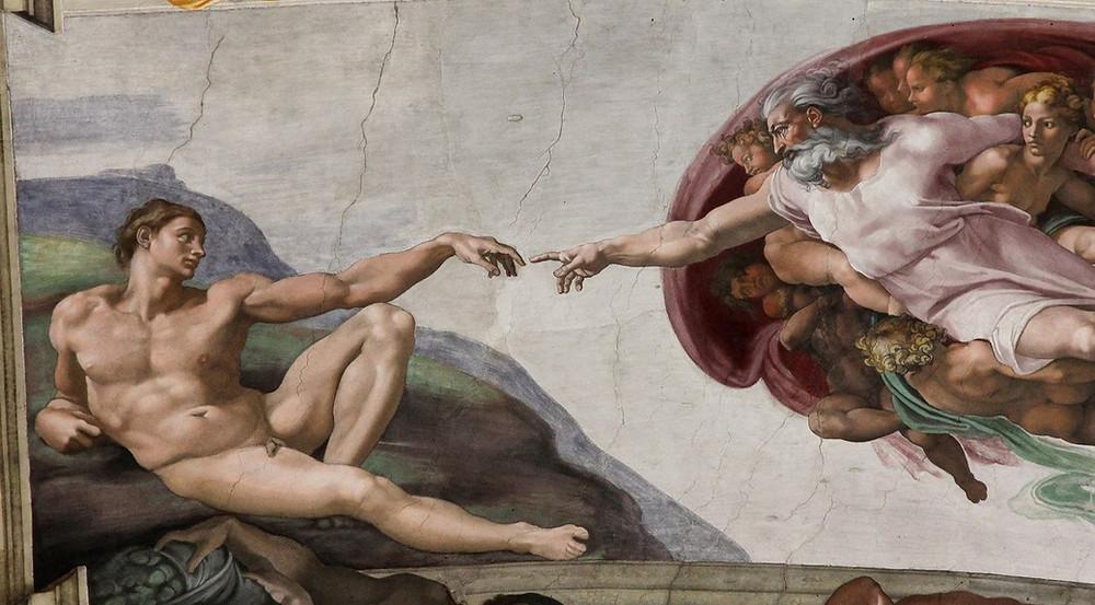 Creation, Michelangelo Buonarroti