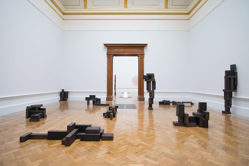 Antony Gormley, Slabworks, Royal Academy