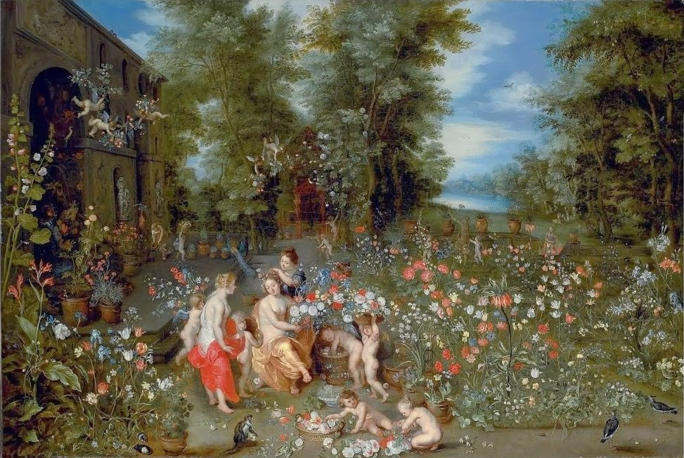 אלגוריה על האביב של ברויגל