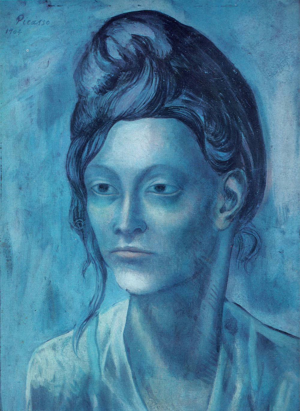 Pablo Picasso, Woman with a Helmet of Hair