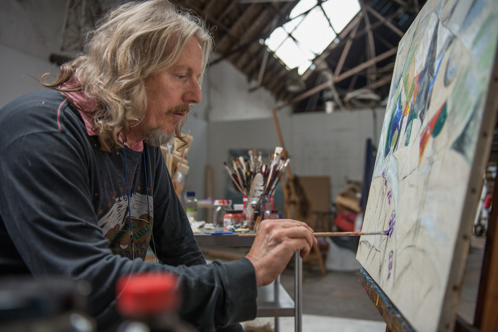 Wolfgang Beltracchi man painting