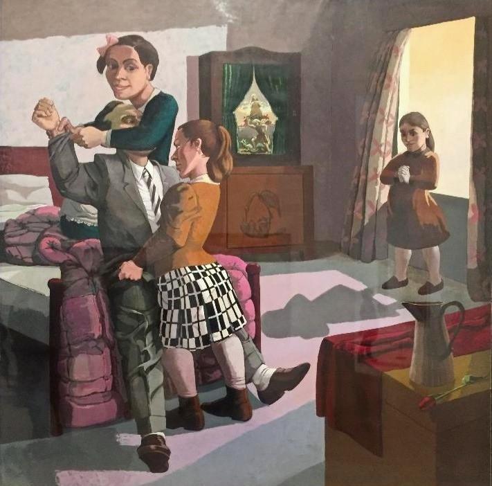 פולה רגו, ילדות מלבישות את אבא