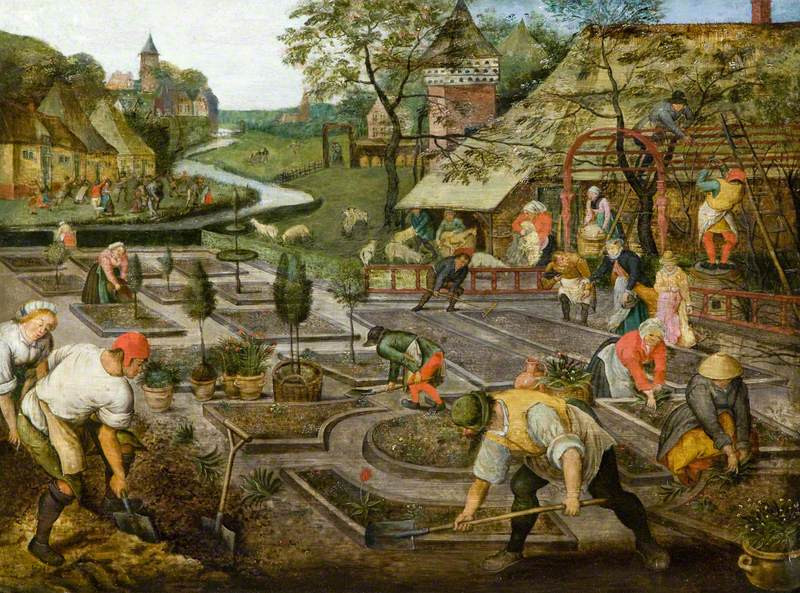 איכרים עובדים-האביב של ברויגל