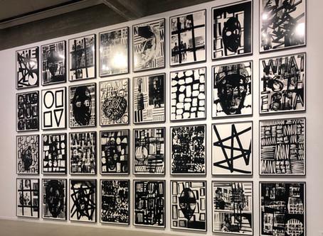 המסלול הנבחר - שחור לבן במוזיאון תל אביב