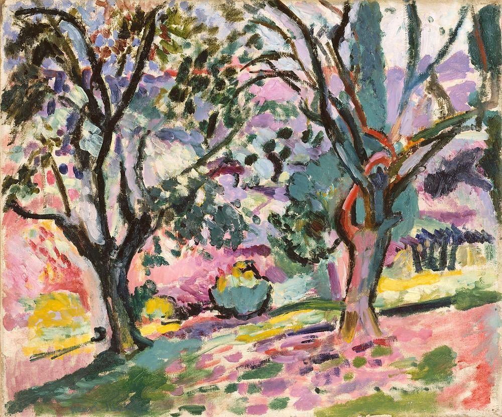 עצים באביב של מאטיס