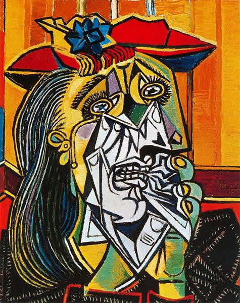 Pablo Picasso, Crying Woman