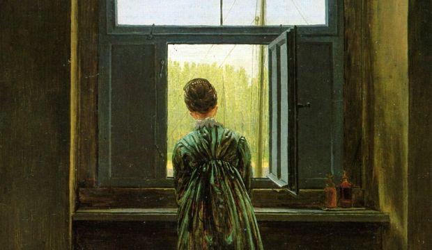 אישה בחלון, קספר דוד פרידריך
