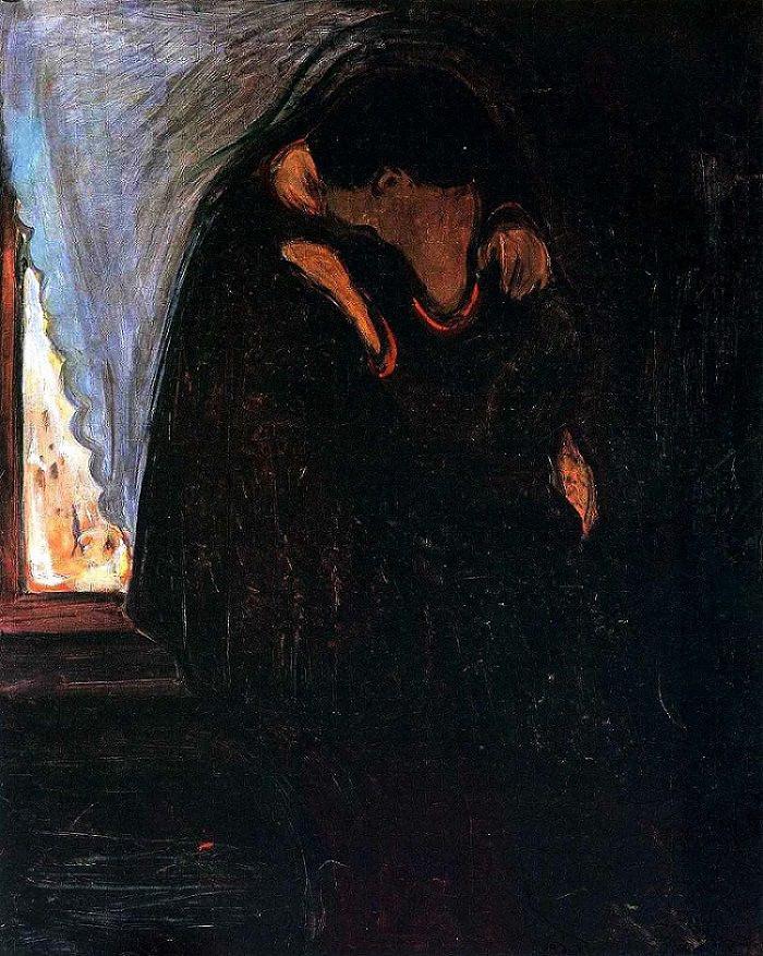 Edward Munch, The Kiss