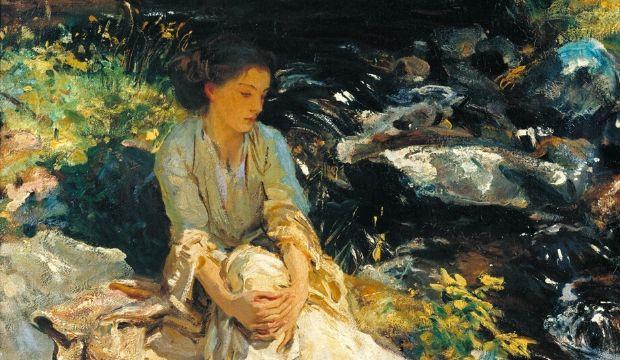 אישה לצד הנחל של ג'ון סינגר סרג'נט