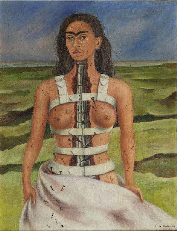 Frida Kahlo, The Broken Column, 1944