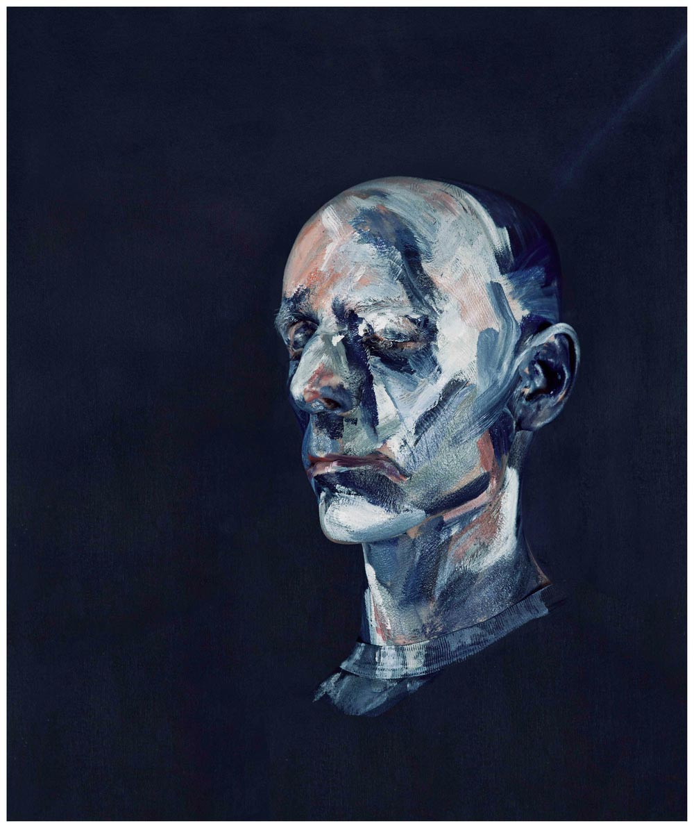 Michel Platnic, After Study for Portrait II (After the Life Mask of William Blake) 1955, 2014