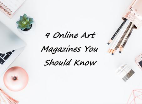9 מגזינים למי שרוצה לדעת מה קורה בעולם האמנות