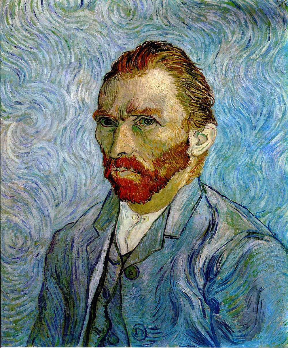 Self Portrait, Vincent van Gogh, 1889