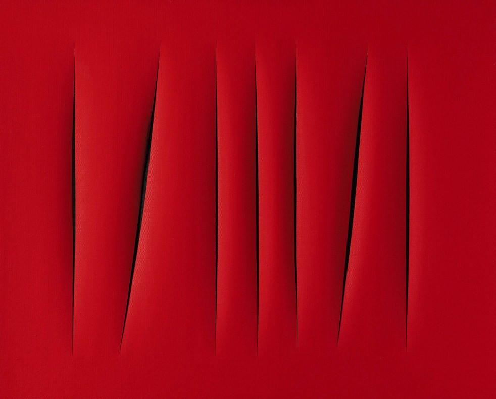 Lucio Fontana אומנות עכשווית so-art