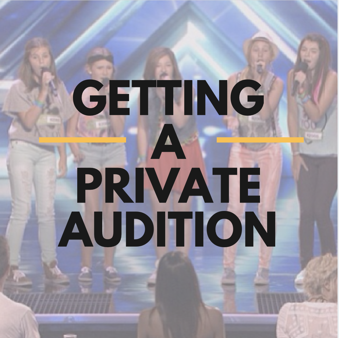 Private Audition Tips