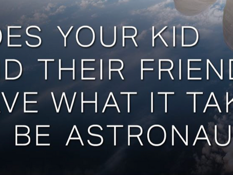 CASTING: Kids Ages 10-12 for Space Adventure!