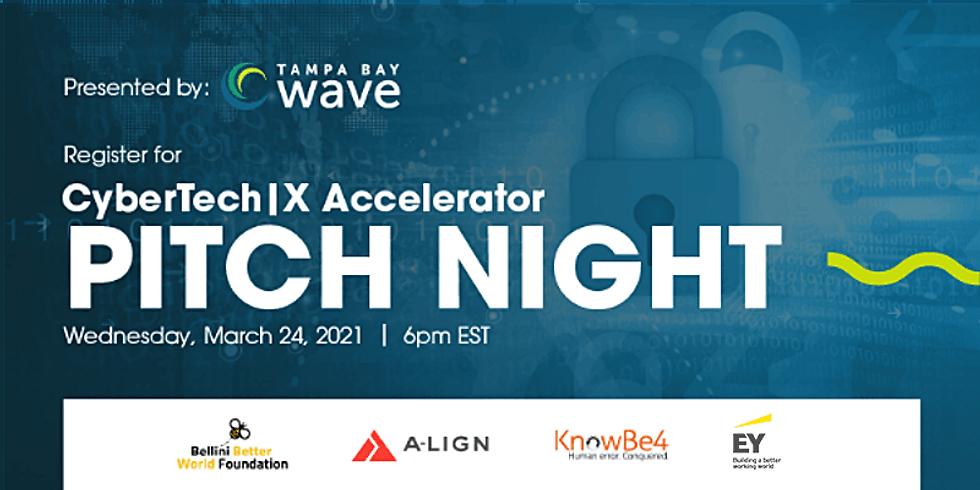PITCH NIGHT - CyberTech|X Accelerator