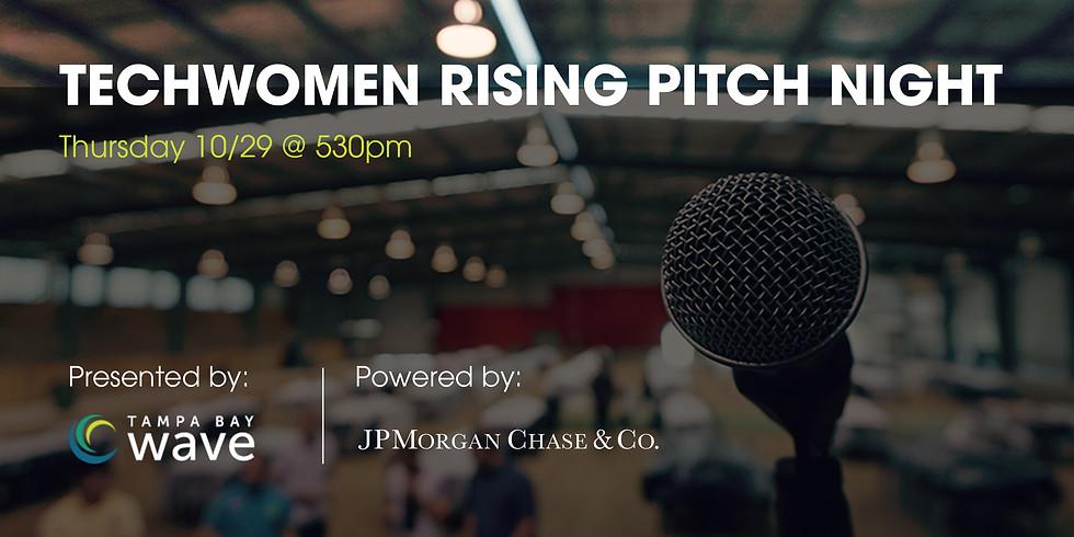 TechWomen Rising Pitch Night