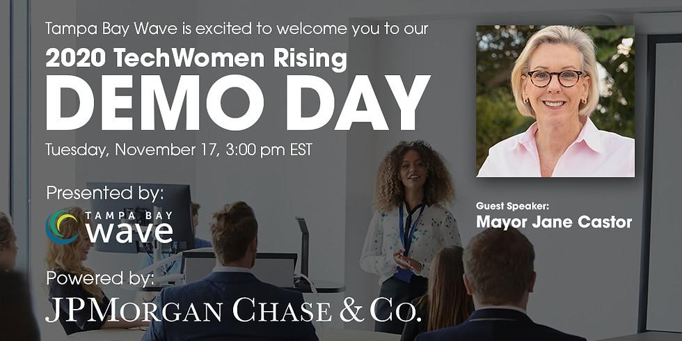 Demo Day: TechWomen Rising Accelerator (Tampa Bay Wave)