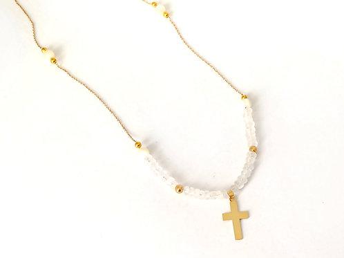 Peace & God Necklace
