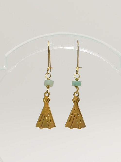 Teepee Earrings