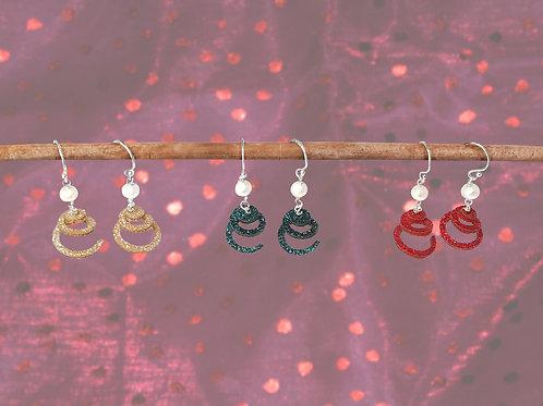 Brandy Ice Earrings